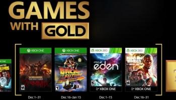 Estos Son Los Juegos Gratis Con Gold De Enero 2017 Para Xbox One Y