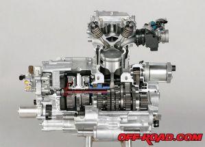 2009 Honda FourTrax Rancher AT: OffRoad