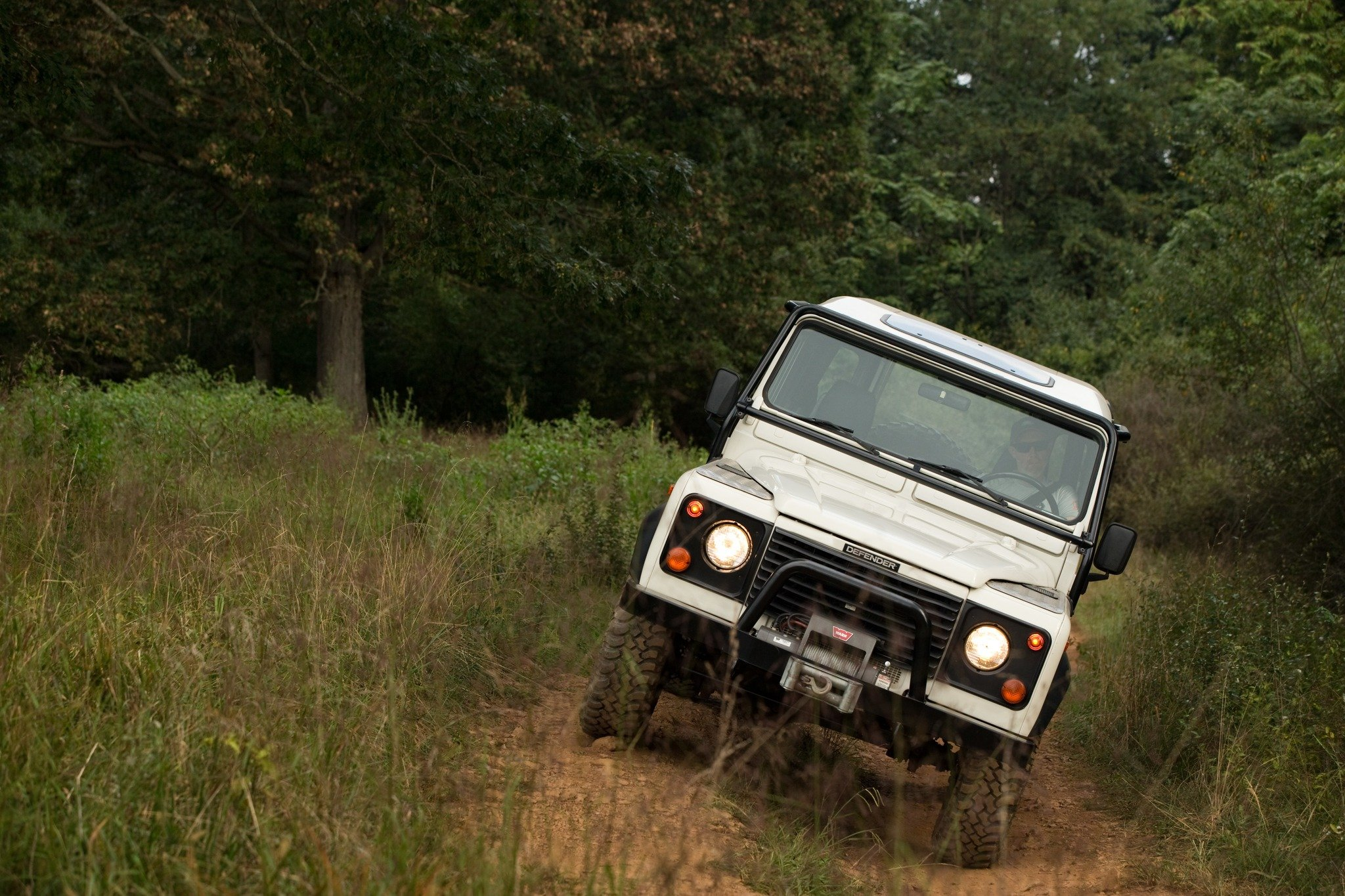 The Future of the Land Rover Defender is Electrifying