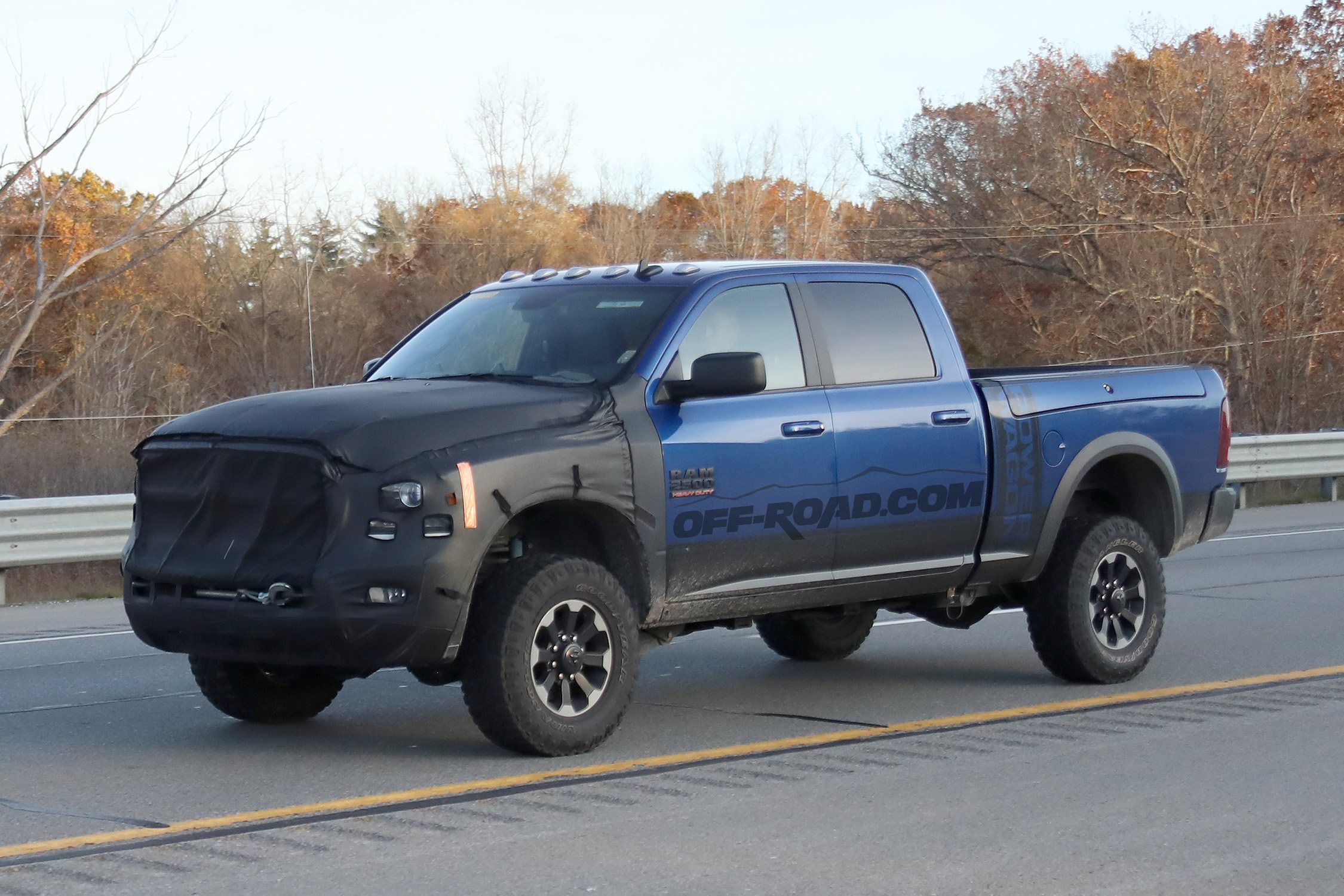The Updated Ram Power Wagon Will Get A Classic Crosshair