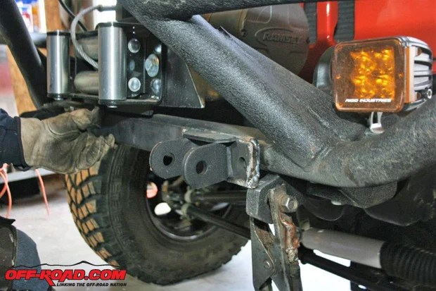 Flat Tow Bar Installation For Jeep Wrangler