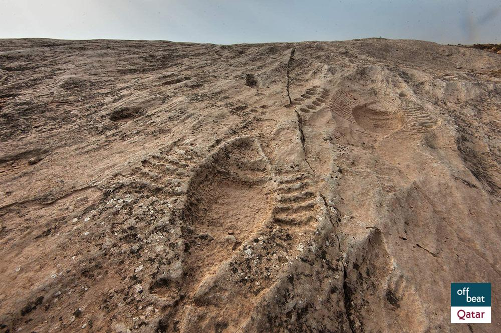 Al jassasiya rock carvings qatar how to get there what