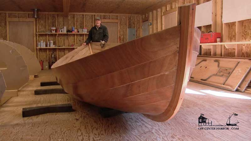 VIDEO Turning The Hull Over How To Build A Caledonia