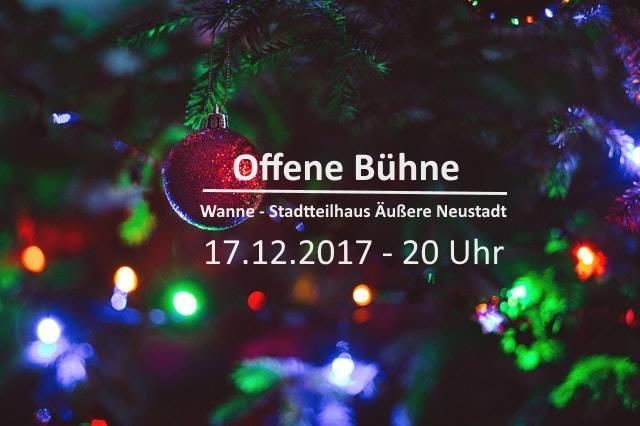 Weihnachtsbühne 2017 1