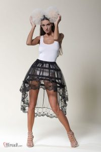modern cage skirt by Offeradi