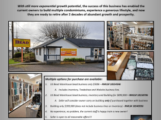 Real Estate and business Busy hwy.101 coastal Florence Oregon Or just Realestate