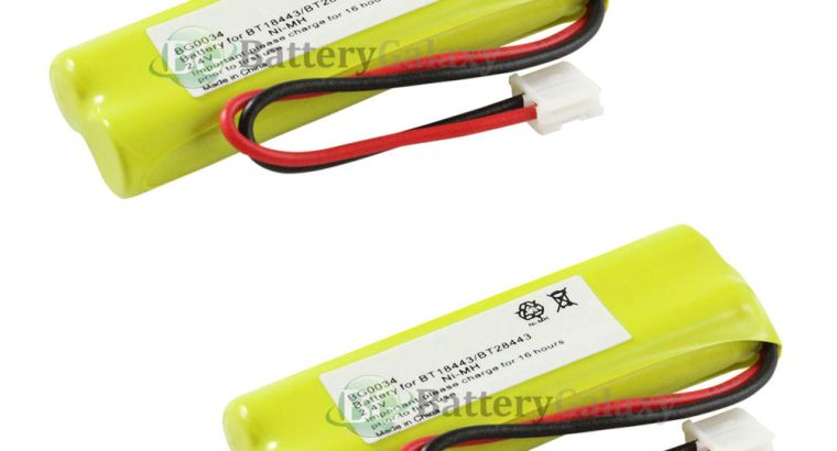 2 NEW Home Phone Rechargeable Battery Pack for V-Tech BT-18443 BT-28443 500+SOLD