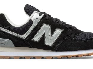 New Balance Men's 574 Shoes Black