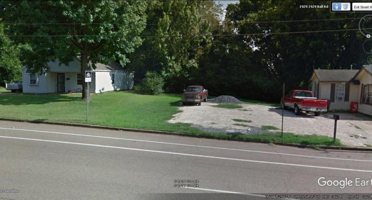 Vacant Land Lot for sale Memphis Tennessee