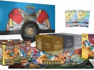 Pokemon Dragon Majesty Super Premium Collection Set Box 10 booster packs + more!