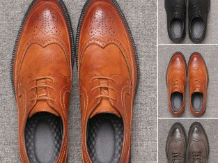 Dockers Mens Thatcher Polished Business Dress Wingtip Lace-up Oxford Shoe