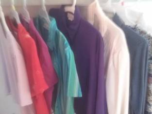 (8) Ladies' Blouses – Size Large (Ballston Spa) $15
