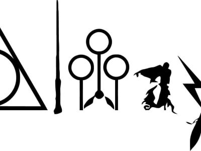 Harry Potter Always with Symbols – Vinyl Car Window Laptop Decal Sticker Oracal