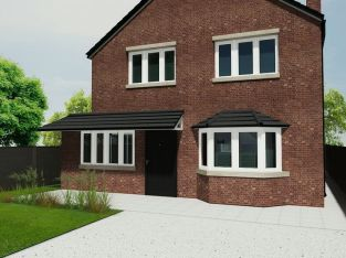 A luxury individually designed three double bedroom detached family home Telford