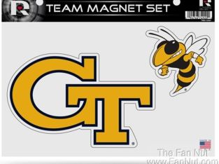 Georgia Tech Yellow Jackets Multi Die Cut Magnet Sheet Auto Home University Of
