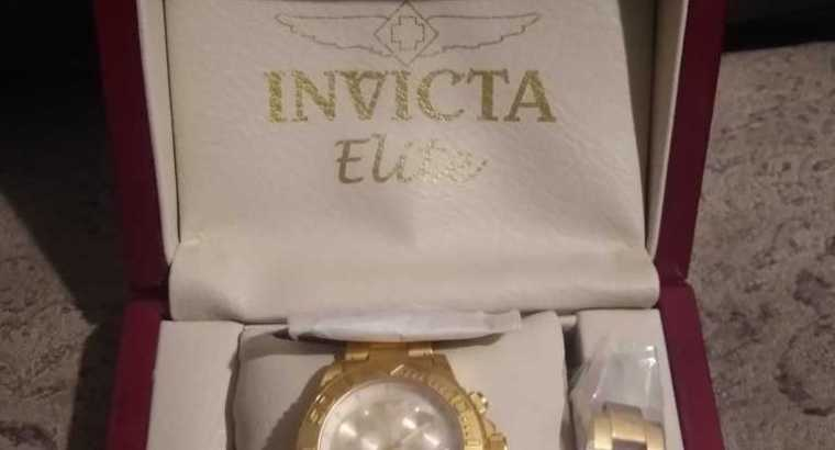 Brand New Men's Invicta Elite Watch