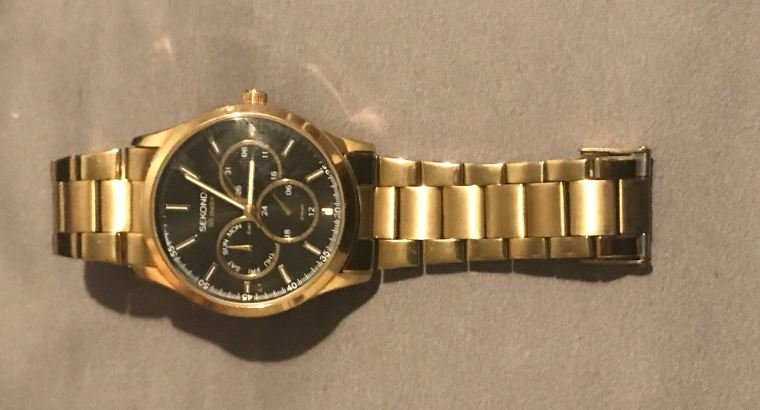 vintage sekonda gold watch limited edition