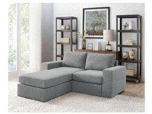 Gosnell grey sectional sofa