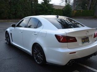 LEXUS WHITE ISF FOR SALE