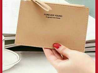 New Korean Fashion Brand Forever Young Original Student Coin Purse Zipper Short Wallet
