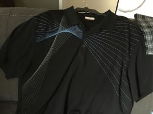 male shirts from med to 3xl
