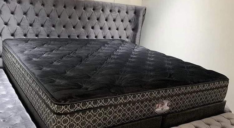 Comfortable family bed