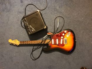 guitar.  case included