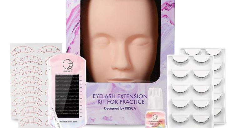 Eyelash Extension Kit with Mannequin Head