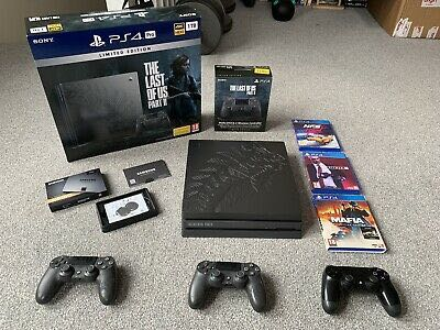 Sony PlayStation 4 Pro 1TB Limited Edition Bundle + Extra Controller + QVO SSD