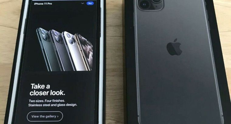 Clean IMEI 512gb apple iPhone 11 Pro max unlocked to all carriers