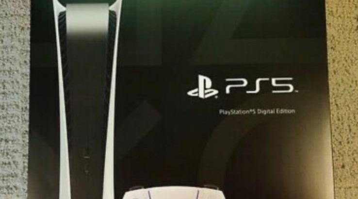 brand new sealed ps5 digital shipping and PayPal payment only