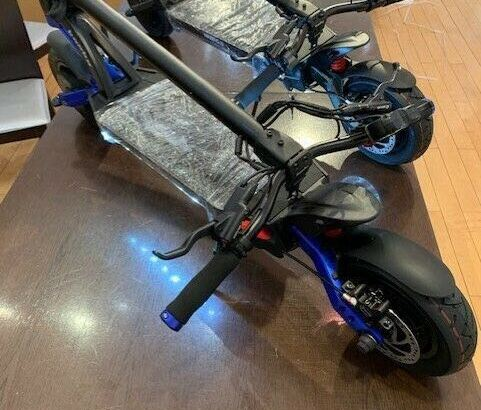 Kaabo Mantis PRO/ 10 60V with 2000W with full Hydraulic Brake.