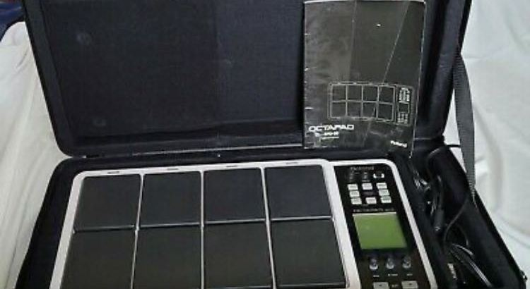Roland SPD30 Octapad Percussion Pad with Gator Padded Case – Excellent Condition