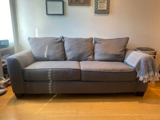 Sleeper sofa with pullout bed