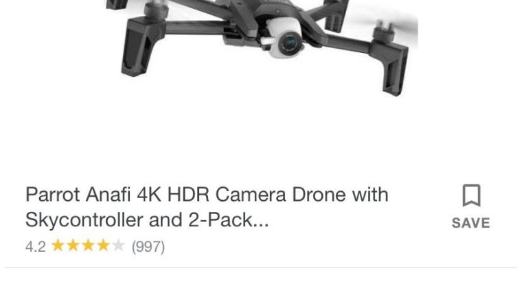 Parrot 4K HDR camera Drone