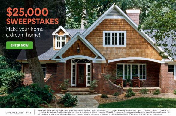 Better Homes Gardens Sweepstakes