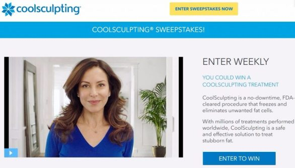 CoolSculpting Sweepstakes 2017