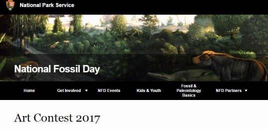 Fossil Day Art Contest