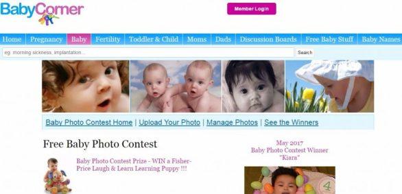 Free Baby Photo Contest