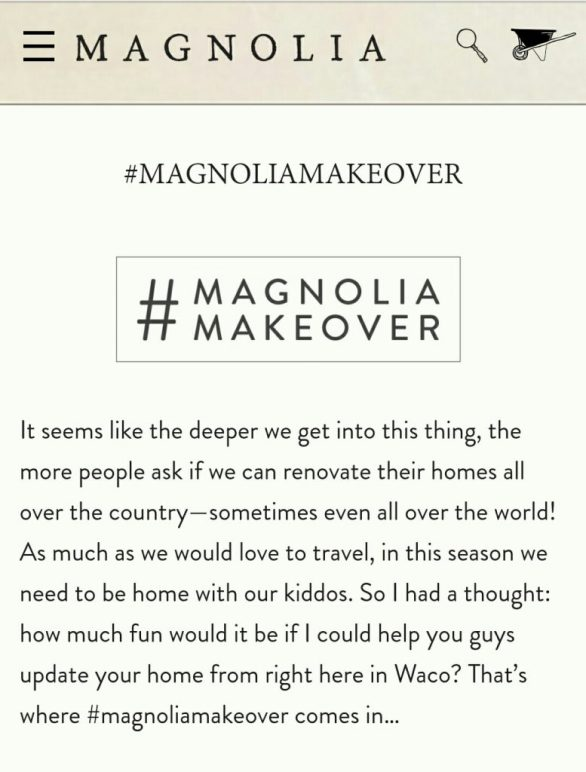Magnolia Market Giveaway
