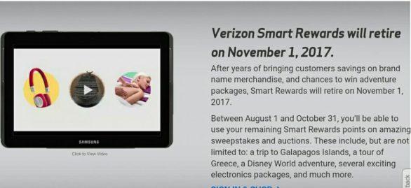 Verizon Smart Rewards Sweepstakes