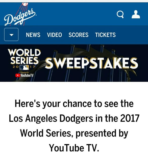 World Series Tickets Giveaway