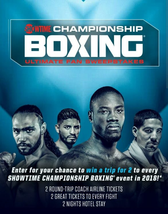 Showtime Boxing Sweepstakes