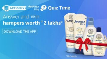 Aveeno Baby Quiz Time Contest