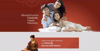 Breathe Fraiche Diwali Contest