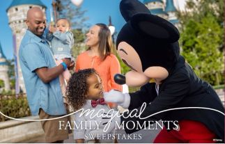 Magical Family Moments Sweepstakes