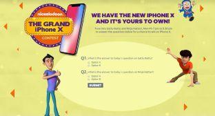Nickelodeon Grand iPhone X