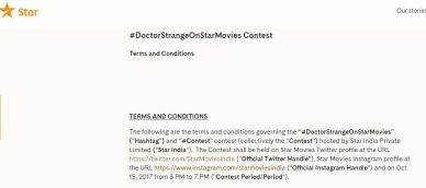 Star TV Doctor Strange