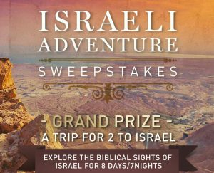 Israeli Adventure Sweepstakes