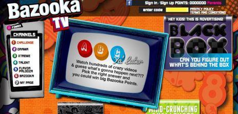 Bazooka Joe Contest